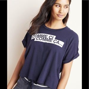 ✨ Anthropologie ✨ Sundry Comme Ci Graphic Tee